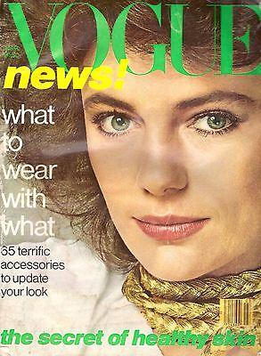 1978 Vogue Magazine Jacqueline Bisset Miss Piggy Pia Ruspoli Anne Hoffman 70s