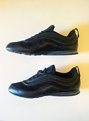 Scarpe Nike Air Max Plata 97 Black/Red (Unisex TG.40-Men 7-Women 8.5) - Nuove