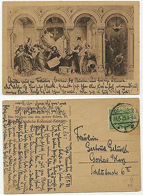 34297 - Das Märchen von den sieben Raben - AK, gelaufen Oppeln 27.5.1923