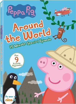 Peppa Pig: Around the World (Special Episodes) DVD, Free Shipping & W/ Slipcover