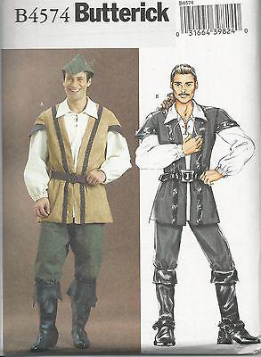 Schnittmuster B 4574: Herrenkostüm - Mittelalter Herren Kostüm Muster
