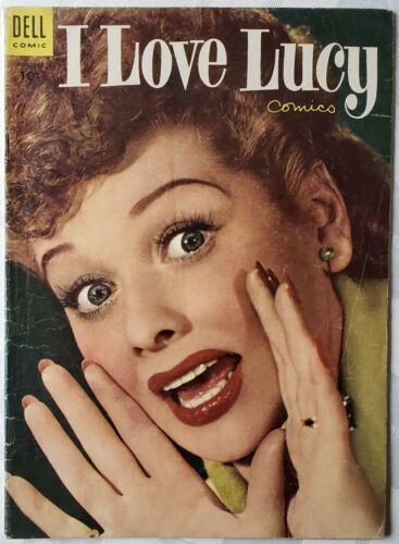 I LOVE LUCY #3 - DELL COMICS 1954