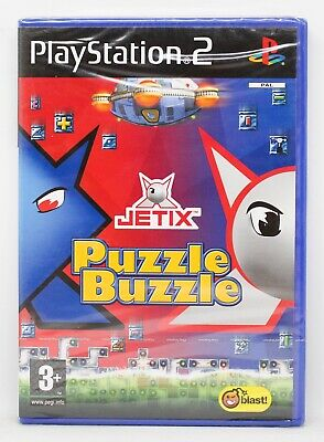 JETIX PUZZLE BUZZLE - PLAYSTATION 2 PS2 PLAY STATION 2 - PAL...