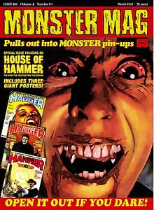 Monster Mag 20 - House of Hammer poster special!