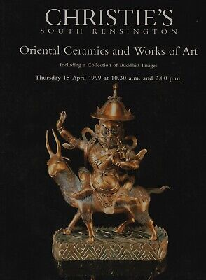 ORIENTAL CERAMICS WORKS OF ART + COLLECTION OF BUDDIST IMAGES AUCTION CATALOGUE