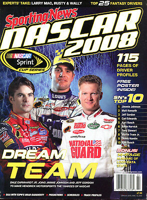 Sporting News Nascar 2008