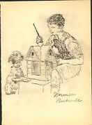 Norman Rockwell Drawing