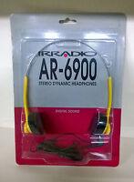 Irradio Ar-6900 Cuffia Stereo Ad Archetto Per Apparecchi Portatili - arche - ebay.it