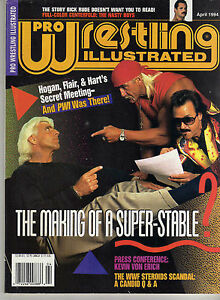 PRO-WRESTLING-ILLUSTRATED-APRIL-1994-RIC-FLAIR-KEVIN-VON-ERICH-HULK-HOGAN-WWE