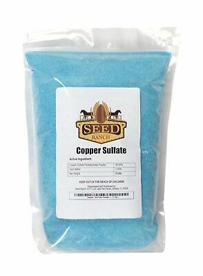 Seedranch Copper Sulfate Powder Pentahydrate - 10 Lbs.