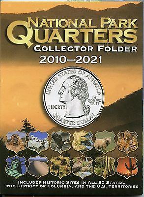 Coin Folder - National Park Quarters 2010 - 2021 America the Beautiful ATB - New