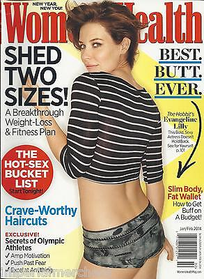 Women's Health Magazine Evangeline Lilly Weight Loss Fitness Plan Best