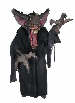 Gruesome Halloween Costumes (Creature Reacher Gruesome Bat Adult Costume Mask Scary Monster)
