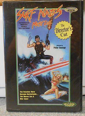 Surf Nazis Must Die (DVD-R 1998) RARE TROMA 1987 HORROR ACTION BRAND NEW