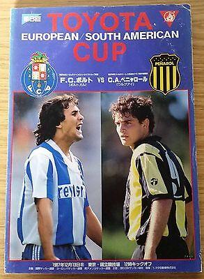 1987 Toyota Cup Final Programme - FC Porto v Penarol