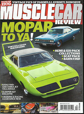 Car Toya (MUSCLE CAR REVIEW MAGAZINE,  MOPAR TO YA !    FEBRUARY, 2019 )