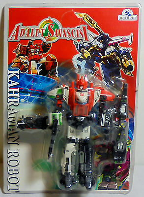 TRANSFORMERS VTG WST 80's 6'' G1 TRAIN COMBINER DECEPTICON ROBOT MOSC SEALED