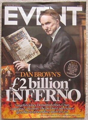 Dan Brown – The Crown - Event Magazine – 1 October 2017 comprar usado  Enviando para Brazil
