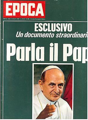 EPOCA N. 889 8 OTTOBRE 1967 BOXE NINO BENVENUTI EMILE GRIFFITH BANDA CAVALLERO