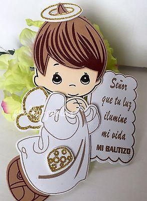 """8""""10Bautizo Party Table Decorations Foam Centerpiece Favors Supplies Boy - Baptism Centerpieces"""