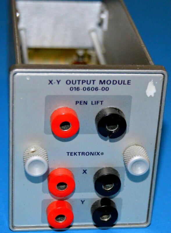 Tektronix X-Y Output Module, option for 1502
