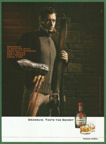 DRAMBUIE Scotch Whisky and Herbs Liqueur -  2006 Print Ad