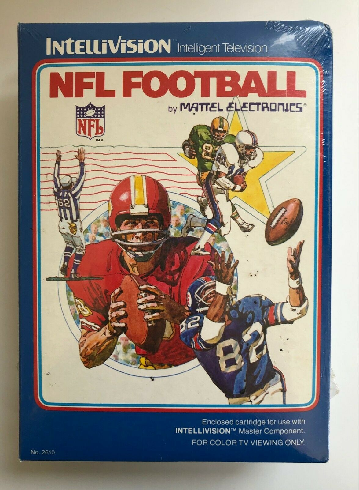 Sealed NFL Football For The Intellivision // NOS - $39.50