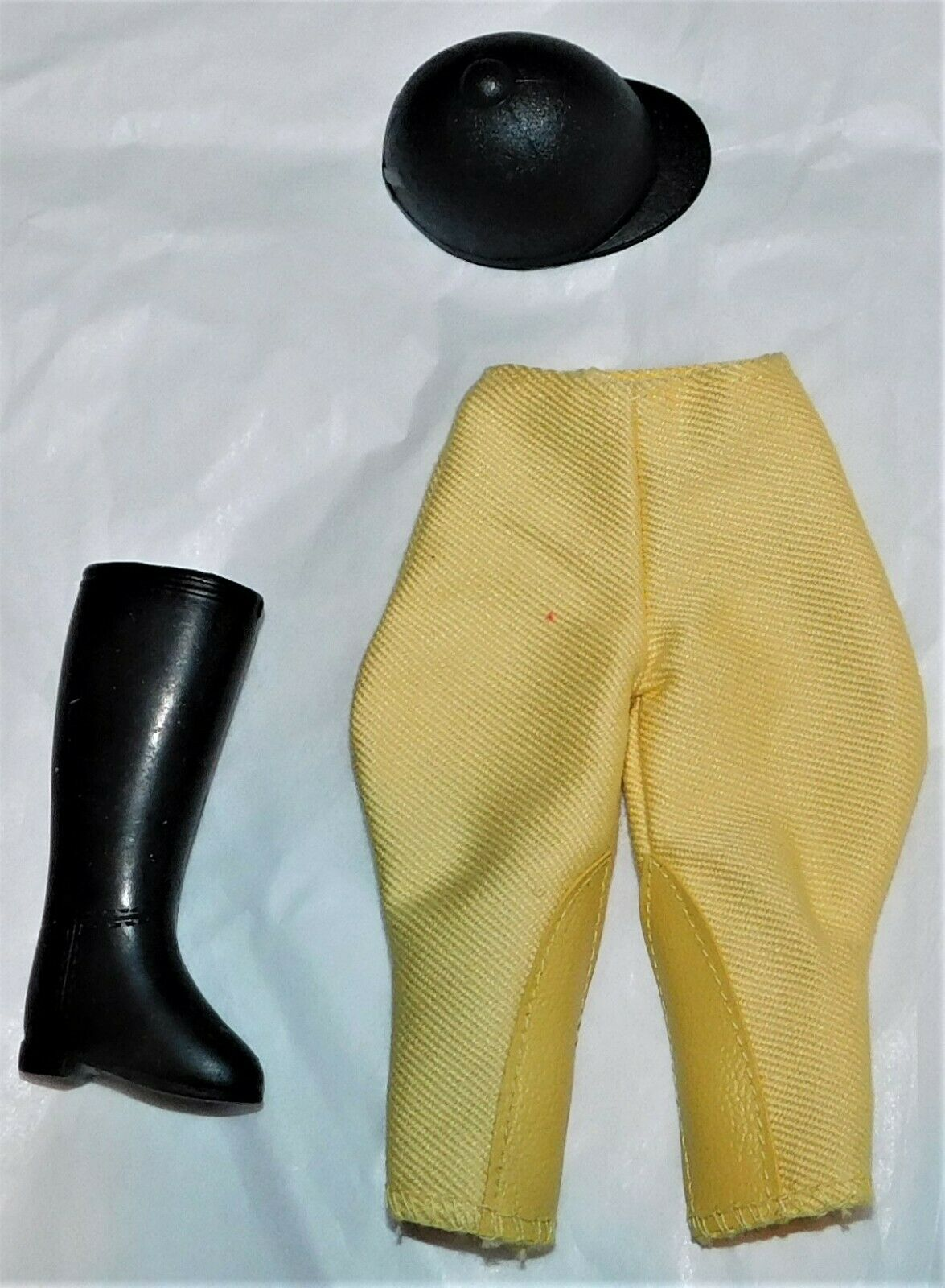 Vintage Barbie Skipper Learning To Ride Hat, Riding 1 Riding Boot 1966 - $11.00