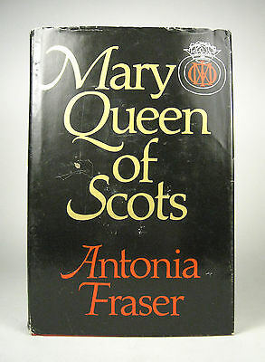 Mary Queen Of Scots Antonia Fraser Delacorte First American Edition April 1970