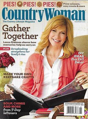 Country Woman Magazine Leeza Gibson Pies Scrapbook Fall Decor Thanksgiving Ideas - Thanksgiving Decorating Ideas
