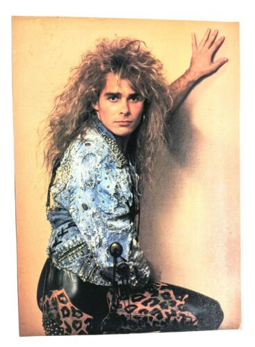 WHITE LION / MIKE TRAMP / POISON / MAGAZINE FULL PAGE PINUP POSTER CLIPPING (2)