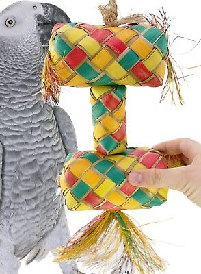 03421 Extra Large Stacked Pinata Bird Toy Cage Toys Cages Foraging Chew Shredder