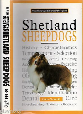 Dogs SHETLAND SHEEPDOGS Linda Churchill BUYING, TRAINING, GROOMING OWNER'S GUIDE