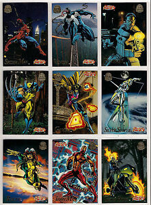 1994 Marvel Universe Series 5 200 Card Set from Fleer