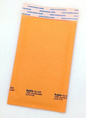 100 000 4x8 Kraft Bubble Lined Mailer Envelopes Self Seal Free Shipping