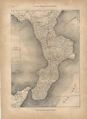 Reggio Calabria Cartina Geografica.Carta Geografica Vatican