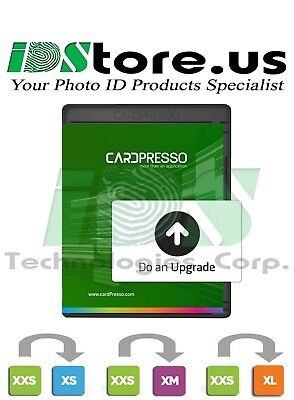 CardPresso XXS Software Upgrade to XS or XM or XL (Latin America Region Only)