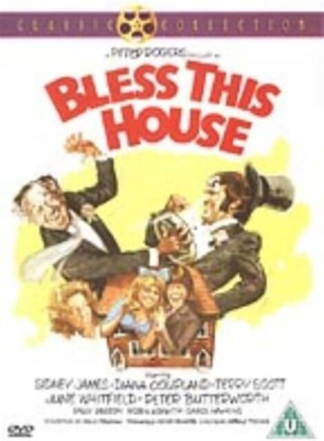 Bless This House (2003) Sidney James, Diana Coupland, Sally Geeson NEW R2 DVD