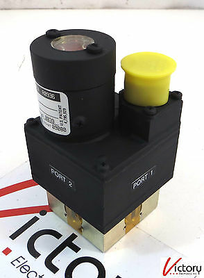 Logus Load Waveguide Switch Lwt28bul9x12 R0936 4 Port 15vdc