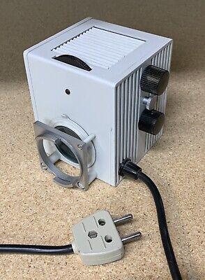 Leitz Ortholux Ii - Diavert Microscope Halogen Lamp House 12v - 50w