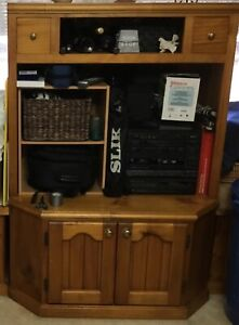 Solid Wooden TV Cabinet has few scratches Doonside Blacktown Area Preview