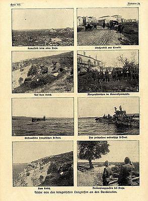 Bilddokumente vom Krieg an den Dardanellen (Kum Kaleh-Troja-Erenköl) c.1915