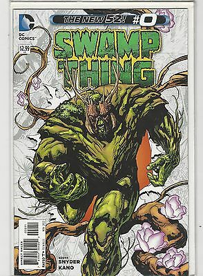 Swamp Thing #0 New 52 DC Comics 2011 NM