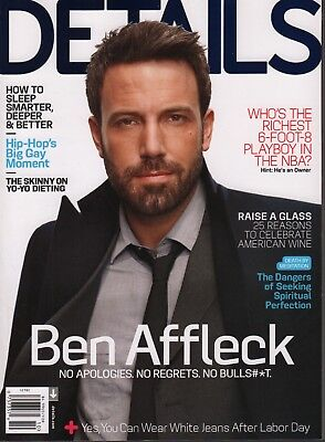 Details October 2012 Ben Affleck Jennifer Livingston Billy Kidd 052418DBF