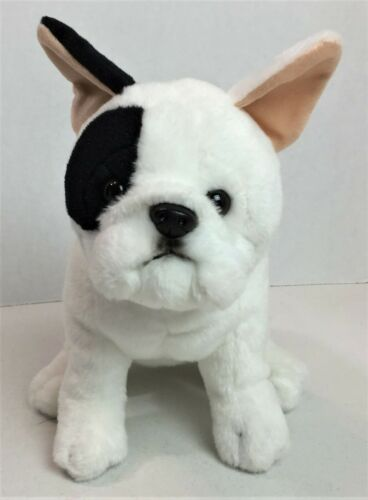 "Toys R Us Animal Alley French Bulldog Boston Terrier Dog Plush Stuffed 12"" #20H"