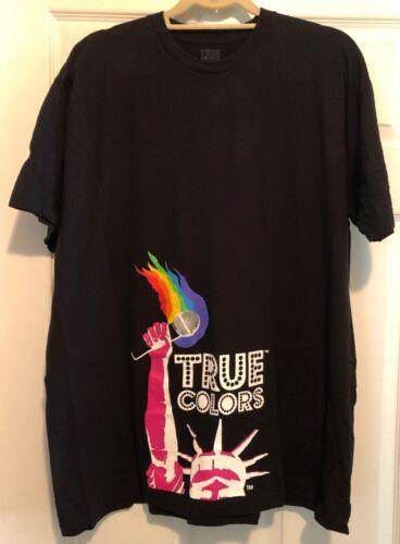 True Colors Tour 2007 (Cyndi Lauper/Erasure/Debbie Harry...) t-shirt -NEVER WORN