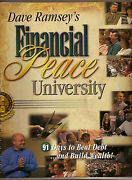 Dave Ramsey Financial Peace Workbook