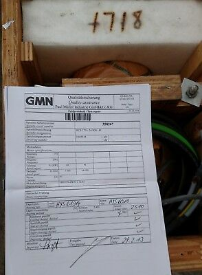 Gmn Spindle Hc-170 Shipping Case