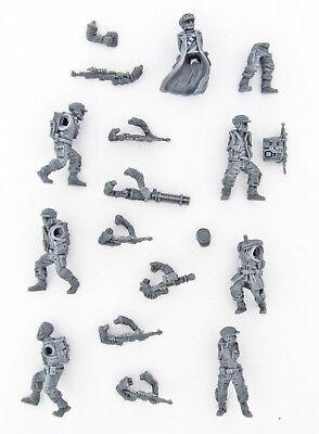 7x Rebellentruppen inkl. Zubehör | Star Wars Legion Grundspiel
