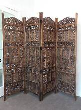 Indonesian Decorative 4 x Panel Room Divider Balaclava Port Phillip Preview